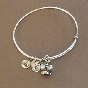 Alex and Ani kings crown bracelet